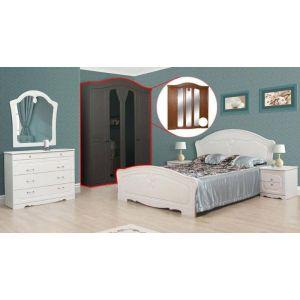 Спальня 5Д «Луиза белое дерево»