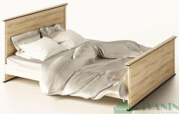 Кровать 2-сп «Палермо» без ящиков | без матраса и каркаса
