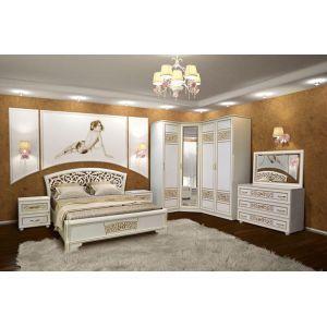 Спальня кутова «Полина Нова»