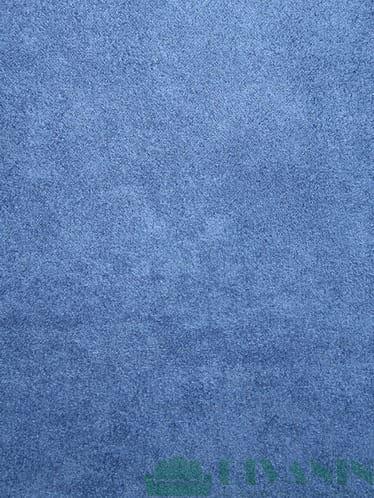 Велюр (замша) Бонд BLUE 12